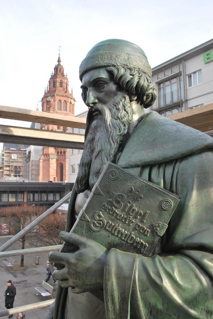 Gutenbergdenkmal Mainz