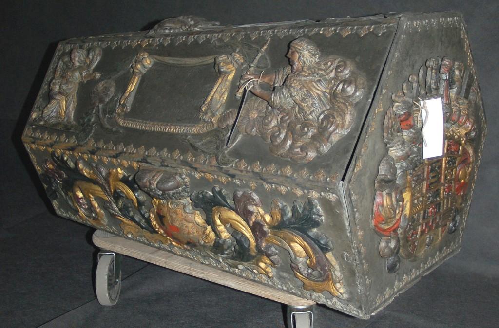 Restaurierter Sarkophag der Prinzessin Hedwig Eleonore