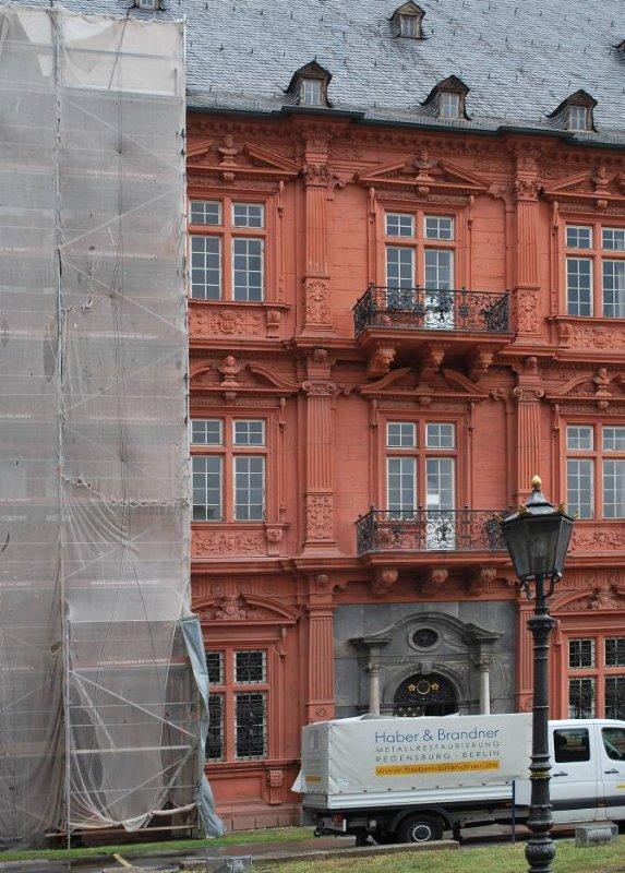 Restaurierung Mainzer Schloss