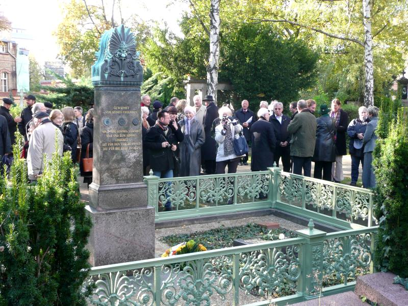 Feierstunde am Grabmal Karl Friedrich Schinkels