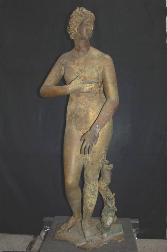 Venus Medici. Bronzekopie nach antikem Vorbild