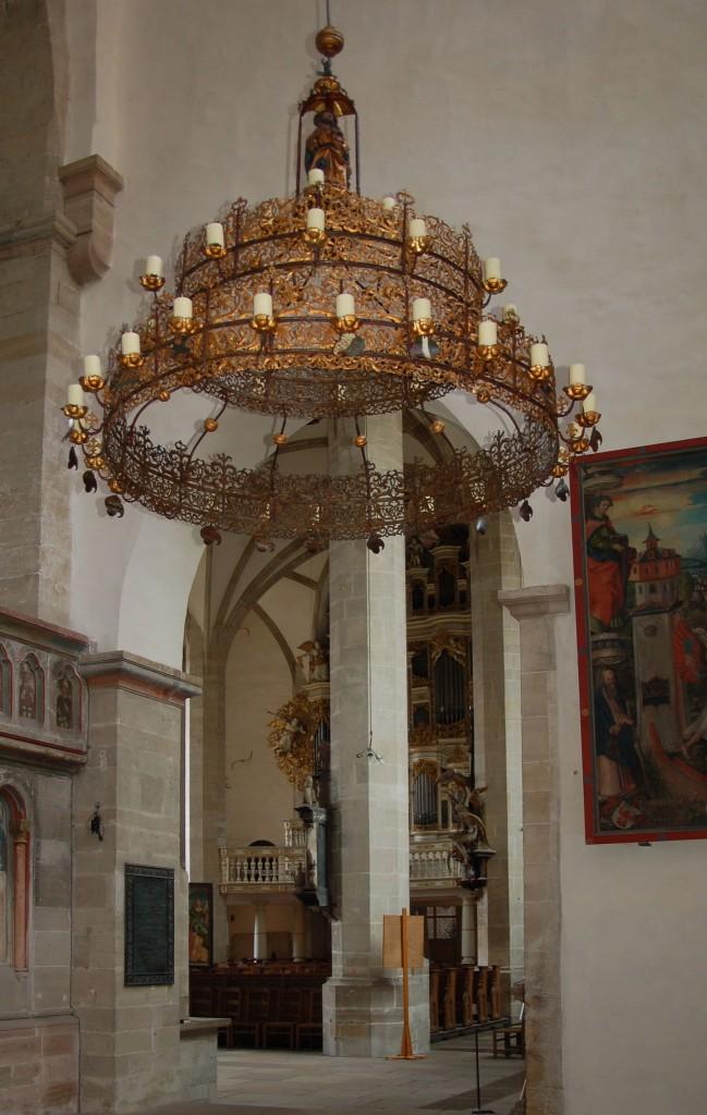 Restaurierung des Radleuchters aus dem Merseburger Dom