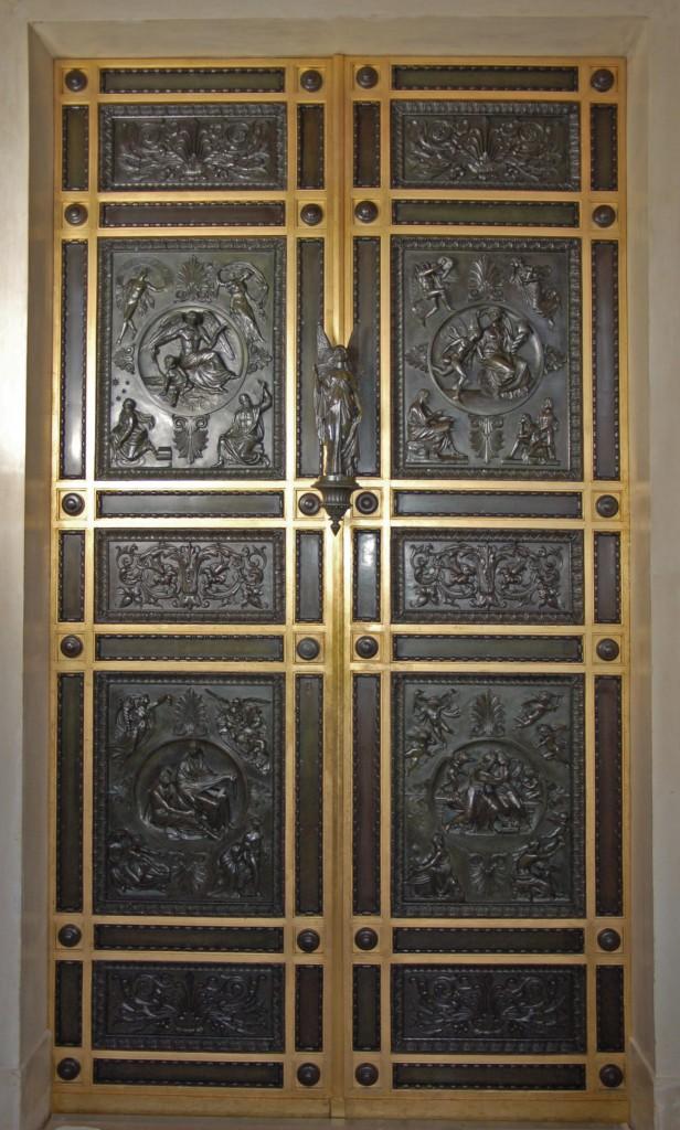 Dichterzimmer Metalltür