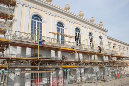 Neuer Flügel am Schloss Charlottenburg nach den Restaurierungs- und Sanierungsarbeiten.