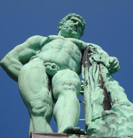 Herkules nach der Restaurierung 2008