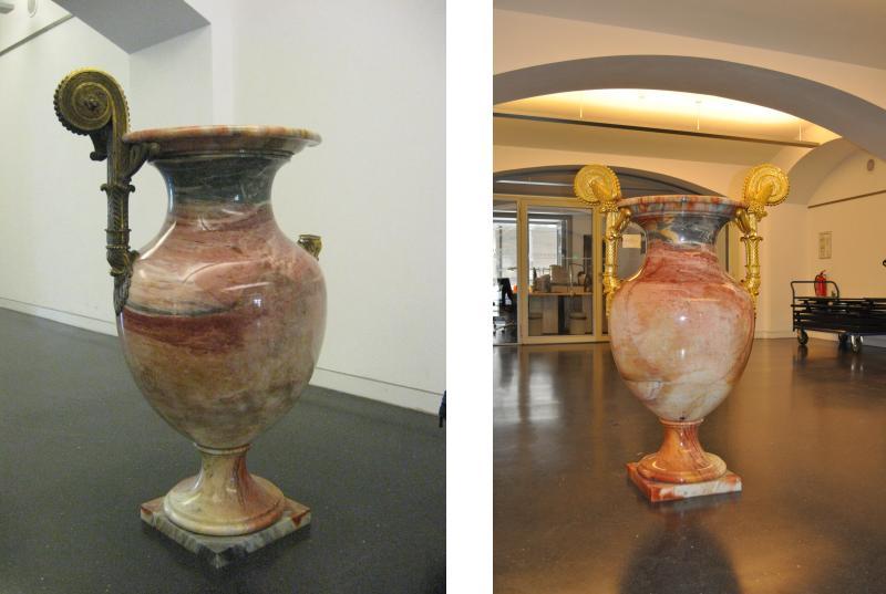 Restaurierung der Humboldtvase der Alten Nationalgalerie Berlin