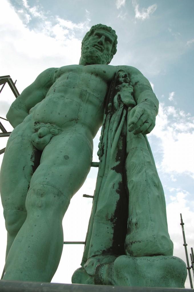 Herkules nach Restaurierung durch Haber & Brandner (Foto: Haber & Brandner)