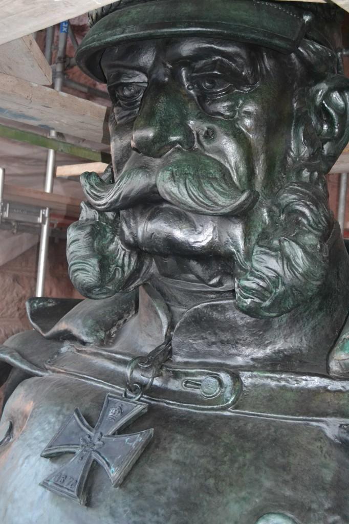 Kaiser Wilhelm I. Portrait nach Restaurierung