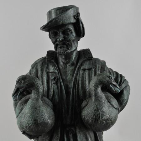 Nürnberg Gänsemännchen Detail Vorzustand